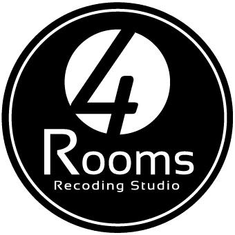 Logo Negro de 4 Rooms Studio
