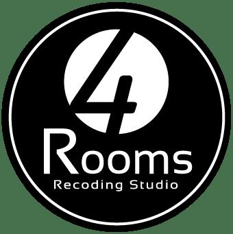 Logo Negro de 4 Rooms Studio